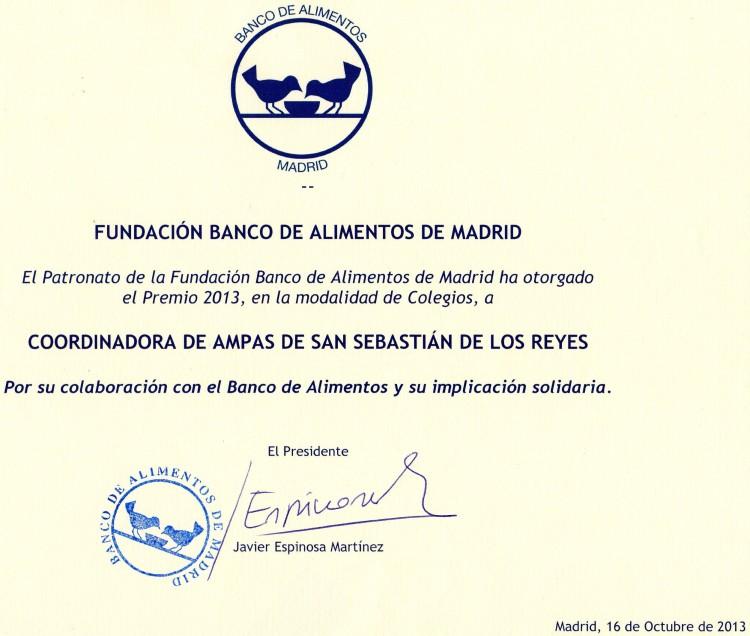 Premio Banco de Alimentos (2)