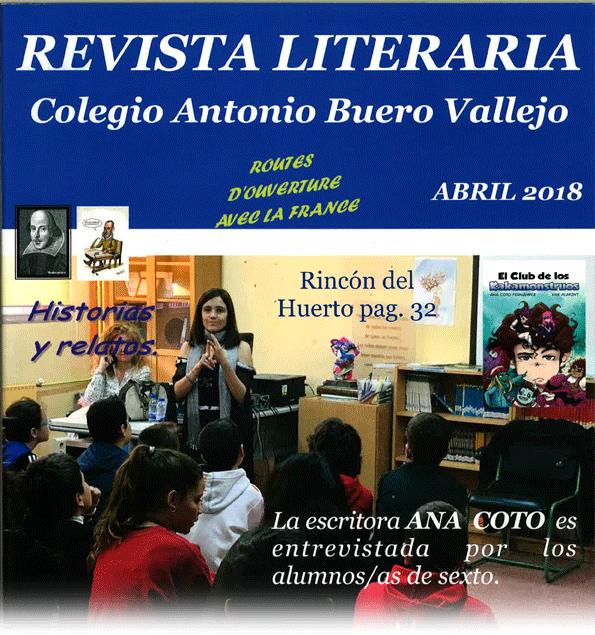 Portada Revista Literaria 2018